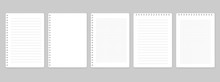 Notepads With Empty Lined And ...