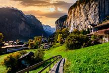 Famous Lauterbrunnen Valley Wi...