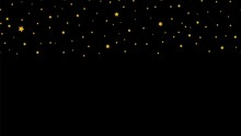 Falling Stars. Golden Star Sea...