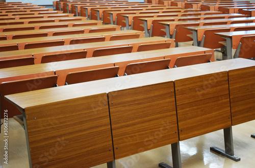 Photo 大学の講義室のイメージ