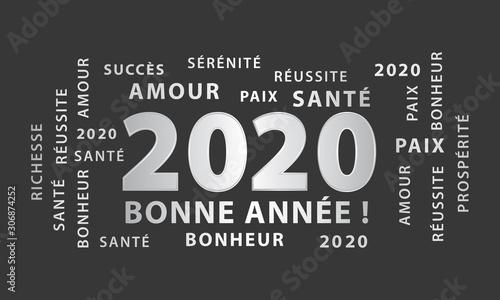 Photo Bonne année 2020