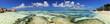Strandpanorama Seychellen