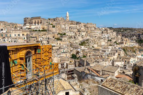 Bond apartment from the movie  No Time to Die in Sassi, Matera, Italy фототапет