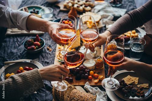 Obraz Dinner party - fototapety do salonu