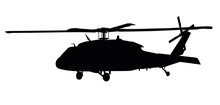Helicopter Detailed Silhouette...