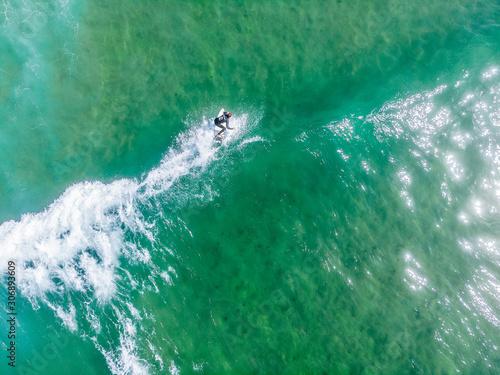 Fotografie, Tablou  Surfer in Portugal