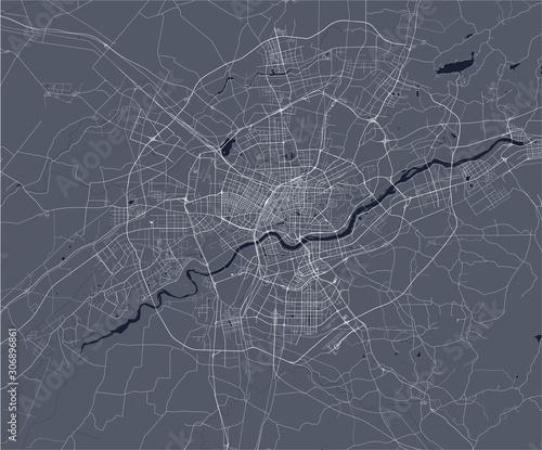 Valokuva  map of the city of Shenyang, China