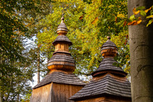 Wooden Towers At Ancient Ortho...