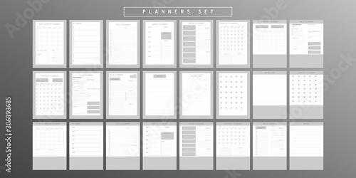 Obraz Planner sheet vector - fototapety do salonu