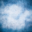 canvas print picture Blue vintage texture. High resolution grunge background.