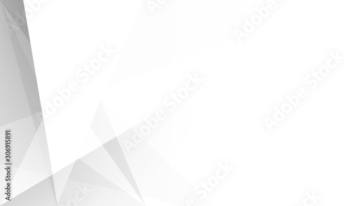 Fototapety, obrazy: white  and Gray wallpaper abstract modern background. space design. shadow style.