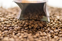 Selective Focus Shot Of Coffee...