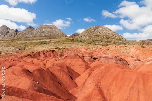 Poster Corail Mountain at Torotoro village in Bolivia