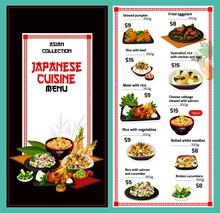 Japanese Cuisine Menu, Japan R...