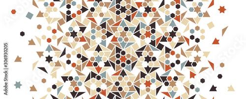 Arabesque vector seamless pattern Wallpaper Mural