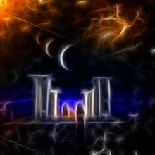 Monks In Alien World. Mystic T...