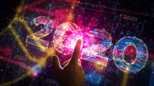 2020 Year Number Cyber Style F...