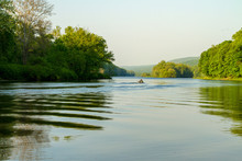 Lone Fisherman On The Delaware...
