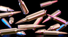 Bullets Of A 7.62 Caliber Assa...