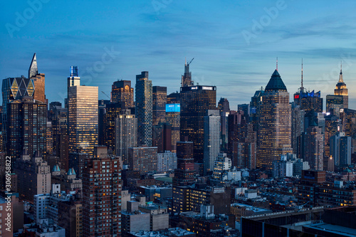 new york skyline - 306958822
