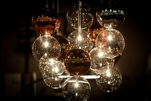 Beautiful Large Chandelier With Balls