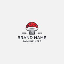 Mushroom Logo Designs Vector, ...