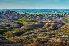 View Of Badlands