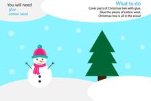 Xmas Winter Craft Activity, Sn...