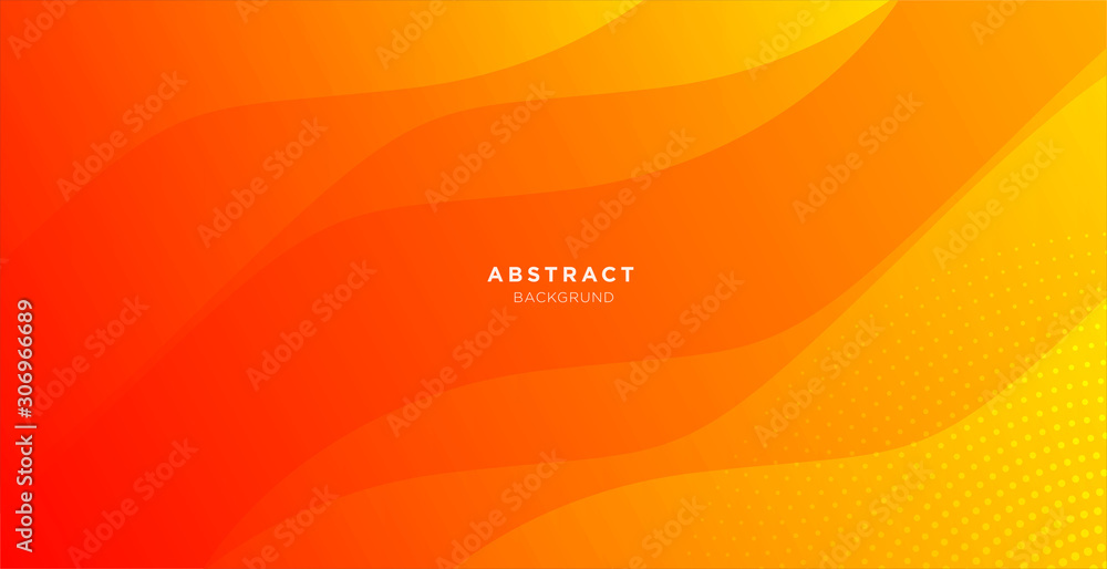 Fototapeta abstract minimal background with orange color