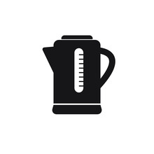 Electric Kettle Icon. Simple I...