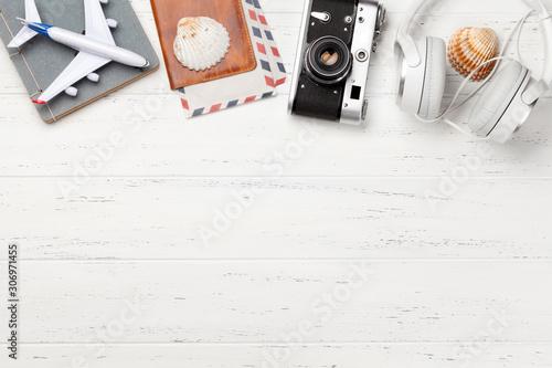 fototapeta na lodówkę Travel concept