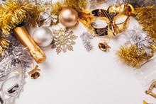 Christmas And New Year White B...