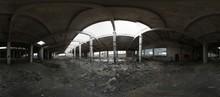 Abandoned Building 360 Panorama