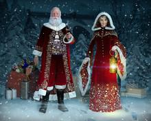 Enchanting Mr And Mrs Santa Cl...