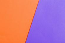 Orange And Violet Paper Background