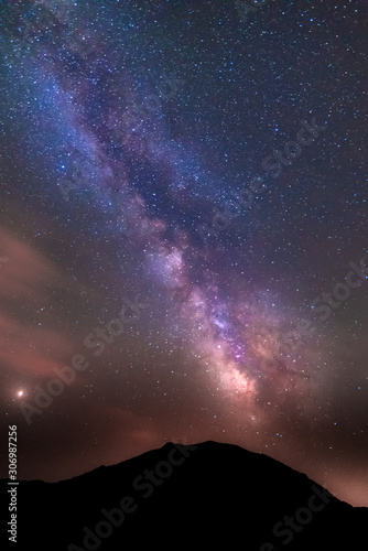 Obraz 18/07-18, La Sagra, Spain. The Milky way seen from. the observatory of la Sagra. - fototapety do salonu