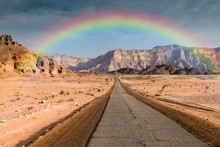 Road In Timna National Park