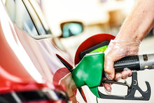 Man At Gas Station Refueling G...