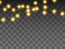 Lights Bulbs Isolated On Trans...
