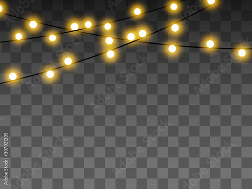 Papel de parede  Lights bulbs isolated on transparent background