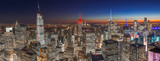 Fototapeta Nowy Jork - New York City manhattan buildings skyline 2019 November