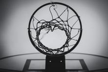 Basketball Hoop Broken Net