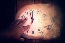 Time Is Running Out Concept Sh...
