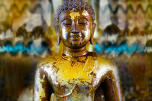 Detail Of Statue Of Buddha, In...