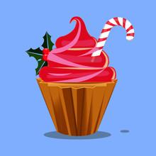 Cupcake Christmas Holiday Trea...