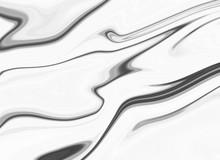 Black White Marble Oil Ink Liq...