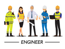 Technician And Builders And En...