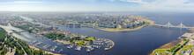Saint-Petersburg, Russia. Pano...