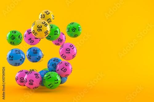 Photo Lottery balls
