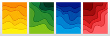 Set Of 3D Abstract Background ...